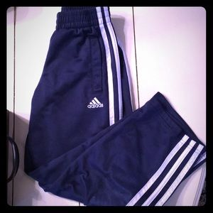 adidas Bottoms - Adidas Boys Pants Size 7 Navy
